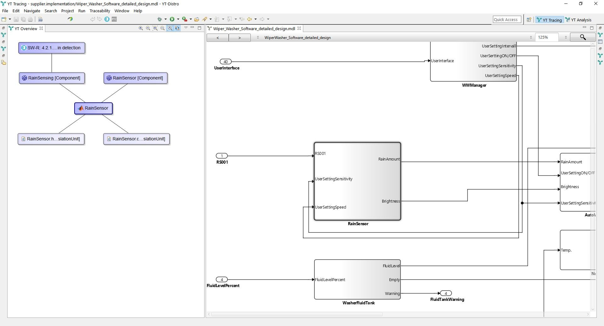 Traceability for Matlab Simulink and Matlab Stateflow